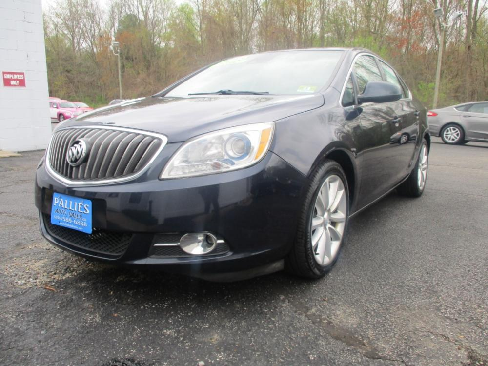 2015 BLUE Buick Verano Convenience (1G4PR5SK4F4) with an 2.4L L4 DOHC 16V FFV engine, 6-Speed Automatic transmission, located at 540a Delsea Drive, Sewell, NJ, 08080, (856) 589-6888, 39.752560, -75.111206 - Photo #0